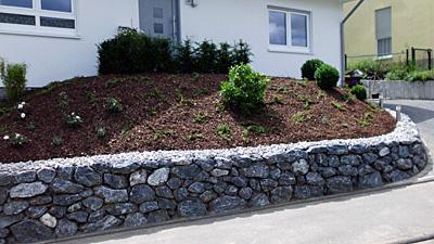 Mauern  Knof Garten und Landschaftsbau