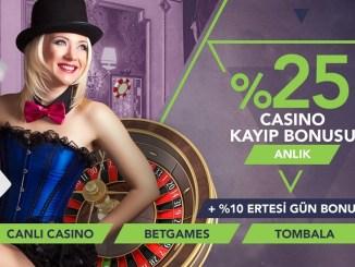Anlık Casino Kayıp Bonusu