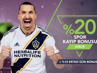 Galabet Anlık Spor Kayıp Bonusu