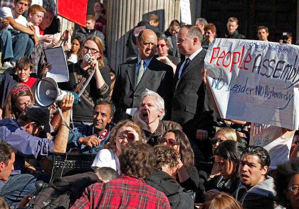 Occupy London, UK
