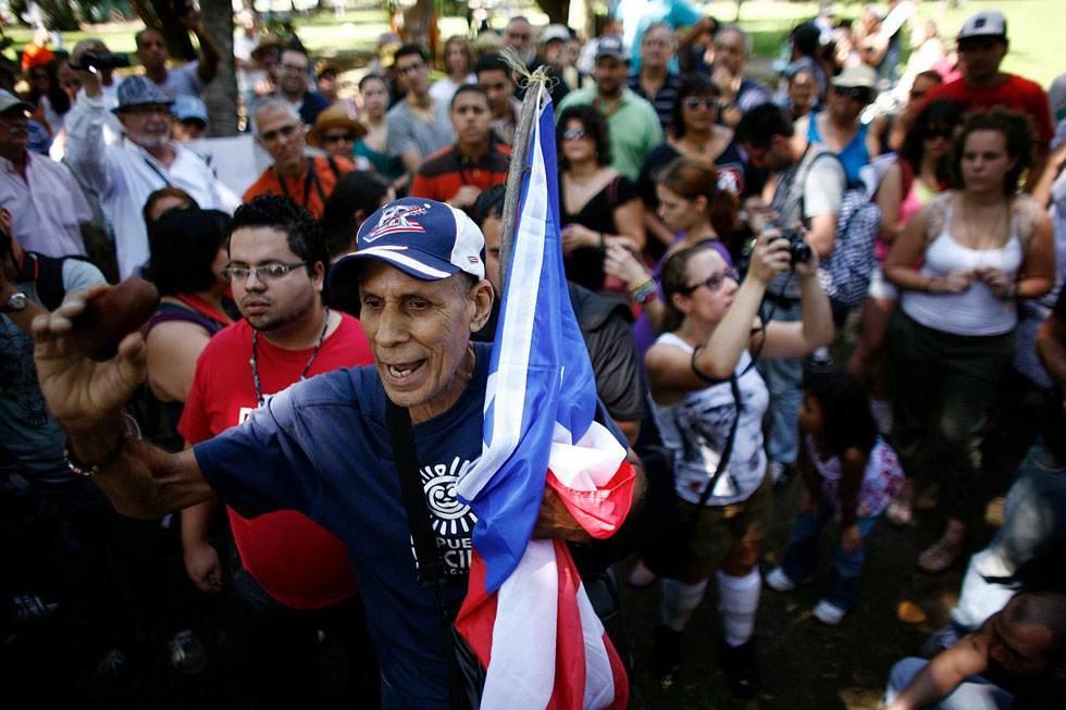 Occupy San Juan, Puerto Rico