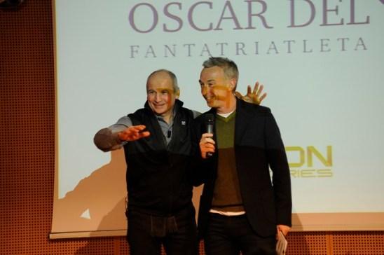 Linus ha presentato con Aldo Rock il 1° Gala del Triathlon