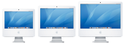 The revamped iMac line