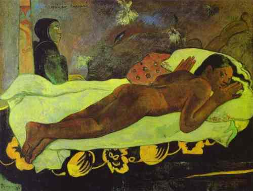 Paul Gauguin: Manao tupapau (The Spirit of the Dead Keep Watch). 1892