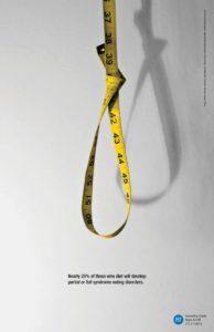 25% dziewczyn stosujących diety rozwija zaburzenia odżywiania (projekt. Agnieszka Mielczarek)