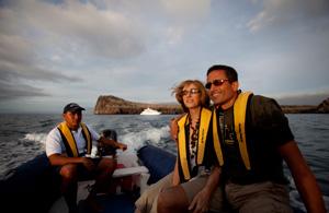 Galapagos Tourist