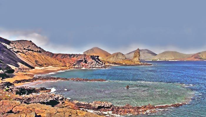 Landscape Bartholome Island