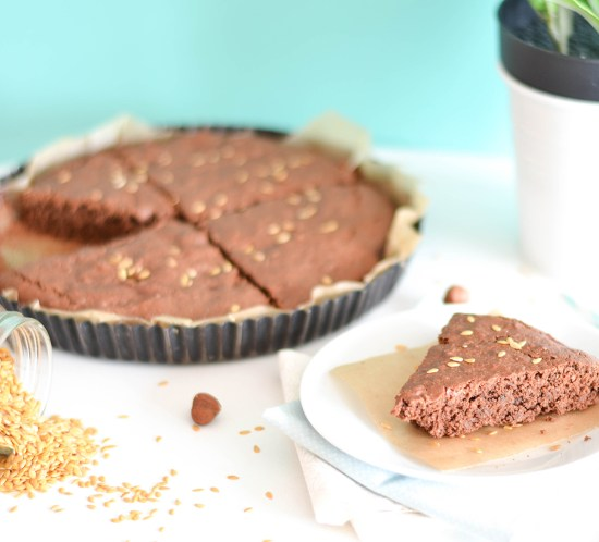 gateau chocolat vegan healthy courgette