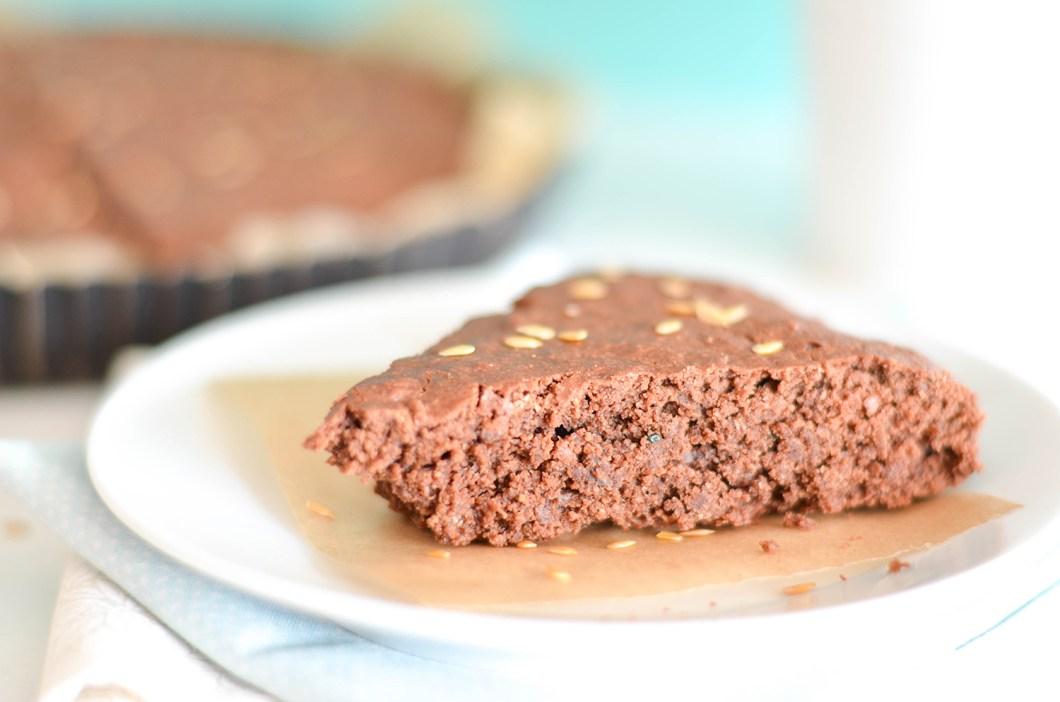 gateau chocolat vegan healthy courgette