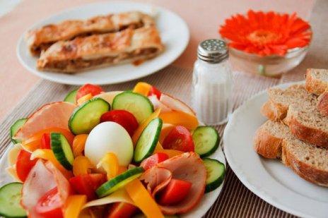 riduzione di calorie