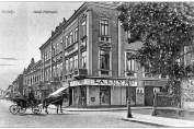 Imagini din Galatiul vechi - 1910 - Trăsură în fața Hotelului Metropol