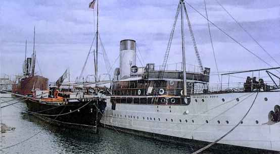 Vaporul Principesa Maria la Galați