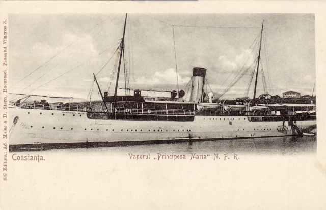 Vaporul Principesa Maria la Constanța