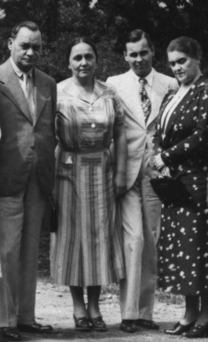Christache Theodoru - fotografii de familie