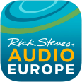 Rick Steves Audio Europe App Icon