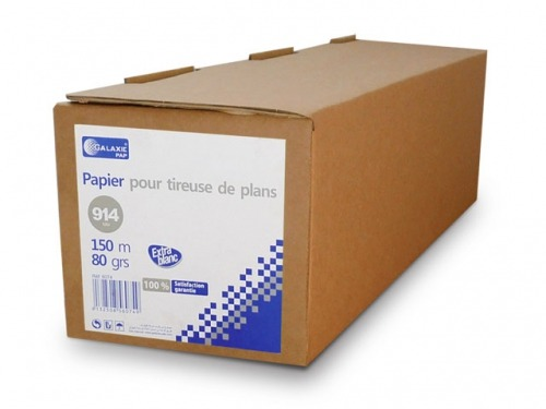 Rouleau tireuse de plans 80g