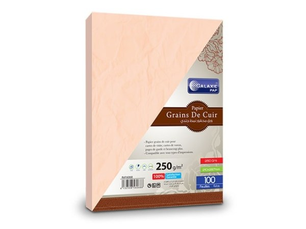 grains de cuir A4-100-rose