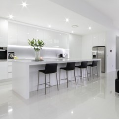 White Kitchen Bench Mission Cabinets Galaxy Gallery Black Gloss 2pak With Benchtops