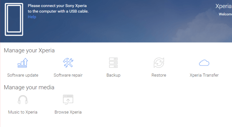 Download Software Sony Xperia Companion