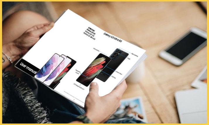 reading galaxy s21 user manual