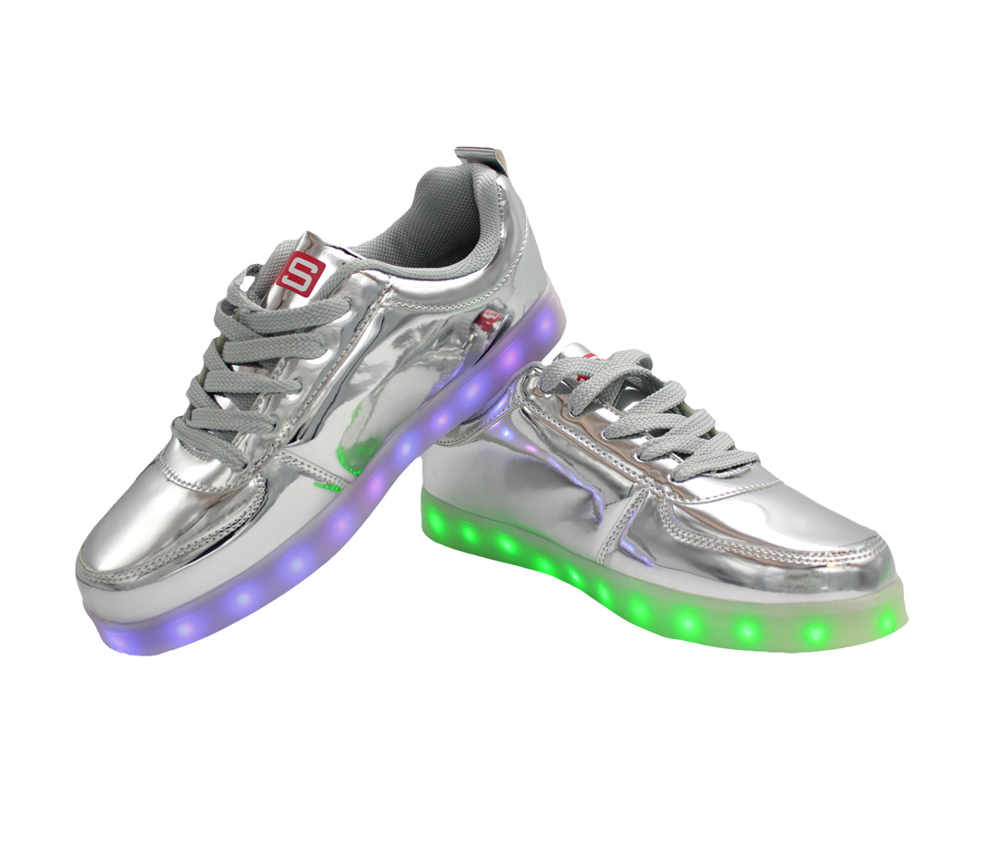 Galaxy High Tops Led Shoes