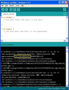 Showing Log and verbose in Arduino IDE