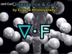 divergence and curl explanation in simple words and video tutorial