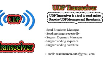 UDP Transceiver Features