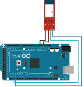 Interfacing bluetooth HC-05 with Arduino, Connection Diagram