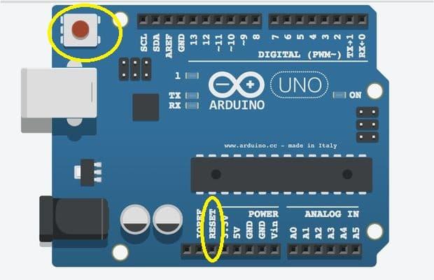 ผลการค้นหารูปภาพสำหรับ arduino reset button