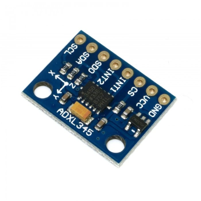 Interfacing Accelerometer ADXL345 (GY-291) with Arduino UNO