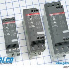 Abb Soft Starter Wiring Diagram Honeywell Thermostat Wire Psr25 600 70 Starters Galco Industrial Electronics Psr Series Image