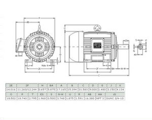Weg Electric Motors Stainless Steel Electric Motors Wiring