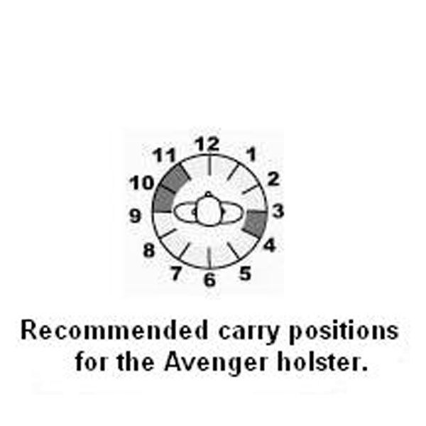 AVENGER BELT HOLSTER: Holsters & Ammo Carriers: Belt