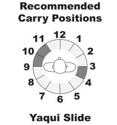 yaqui slide belt holster [ 1500 x 1500 Pixel ]