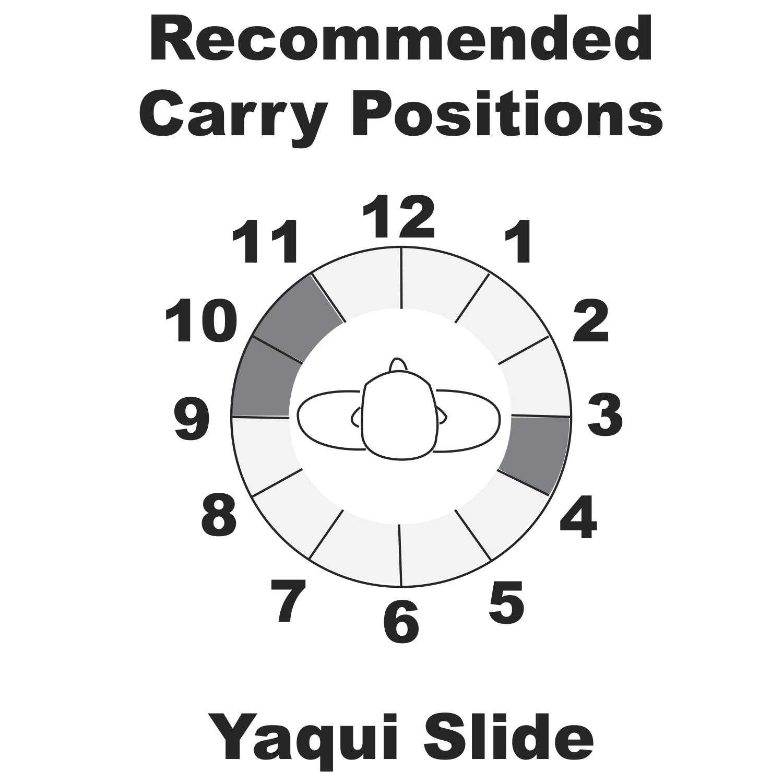 hight resolution of yaqui slide belt holster