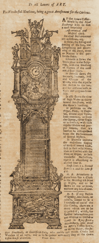 17th And 18th Century Nichols Newspapers Collection