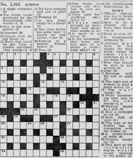 Cracking the Enigma Code: The Daily Telegraph's Crossword Challenge