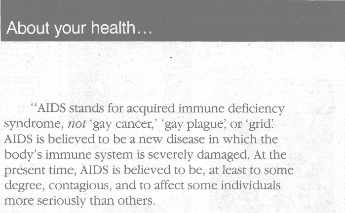 The Homophobic AIDS Crisis of the 1980s