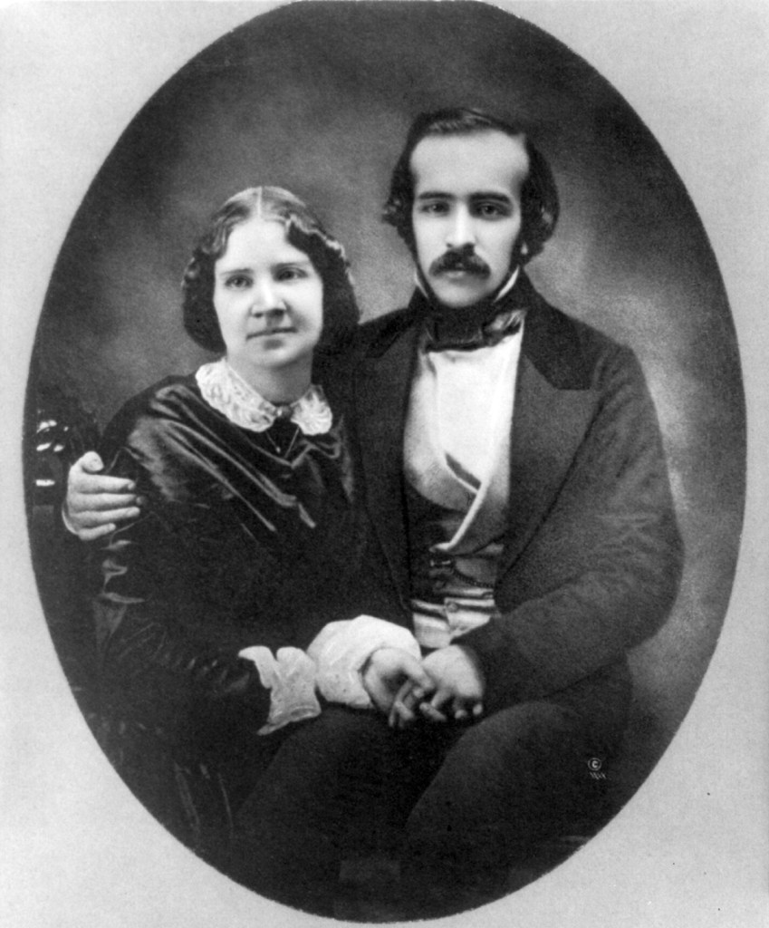 Unknown: Jenny Lind and Otto Goldschmidt.