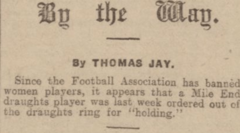"""""""By the Way."""" Derby Daily Telegraph, 24 Jan. 1922, p. 2. British Library Newspapers"""