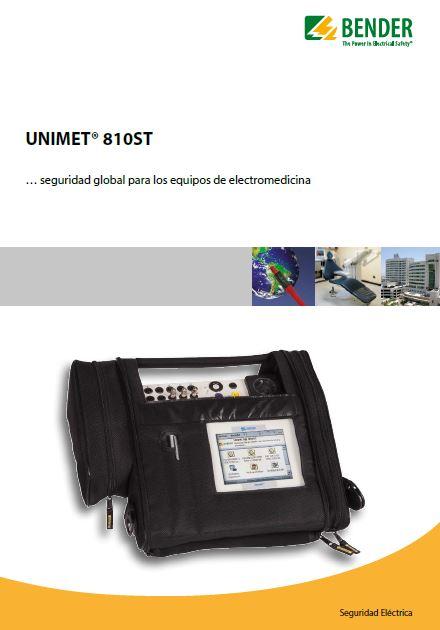 catalogo evaluadores bender unimet 810st