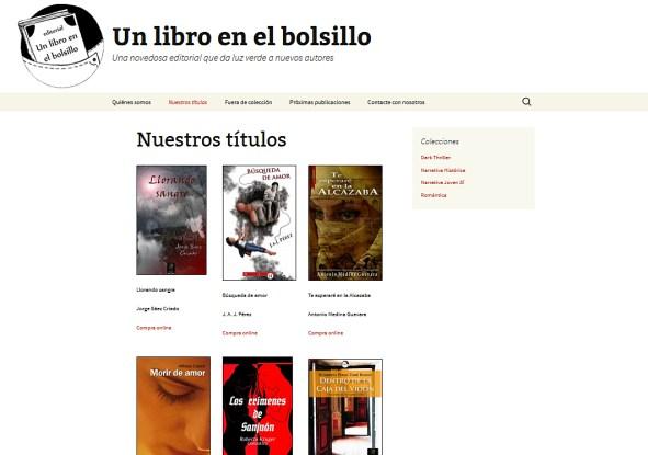 WEB Un libro en el bolsillo