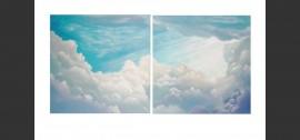Díptico Nubes