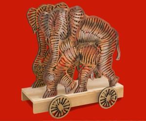 Carrito Elefante Francisco Toledo