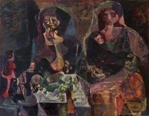Romeo Tabuena Mujeres y niño 1964