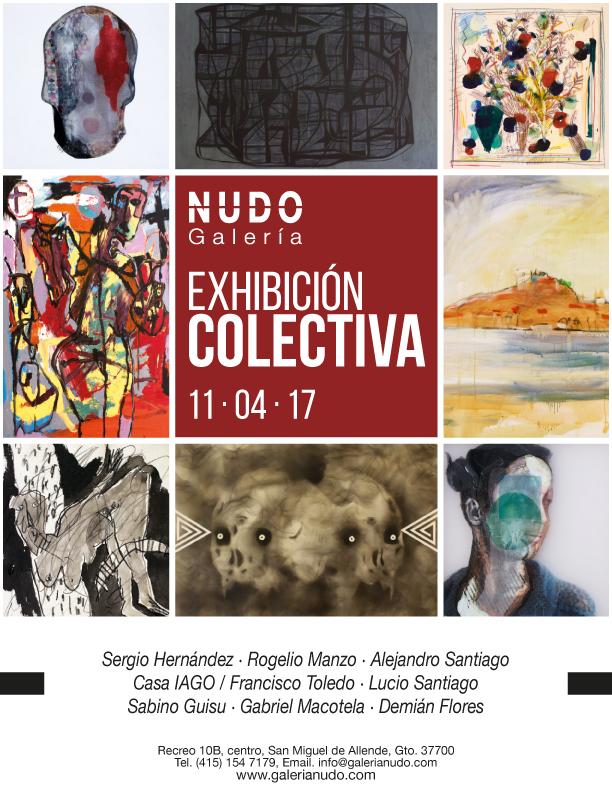 exhibición colectiva 11 abril 2017