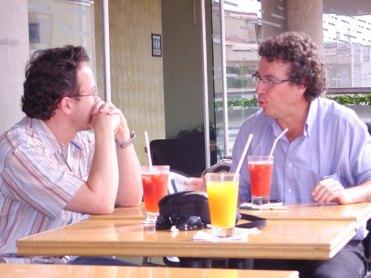 Jorge Melguizo y Carlos Naranjo