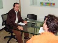 Carlos Mario Estrada y Carlos Naranjo