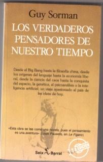 Carátula libro Los verdaderos pensadores de nuestro tiempo